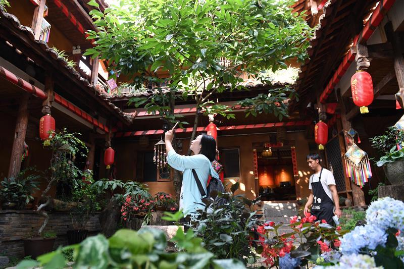 云南丘北:鄉村旅游助農增收