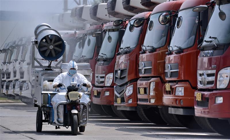 严格防疫 保障北京肉类食品安全