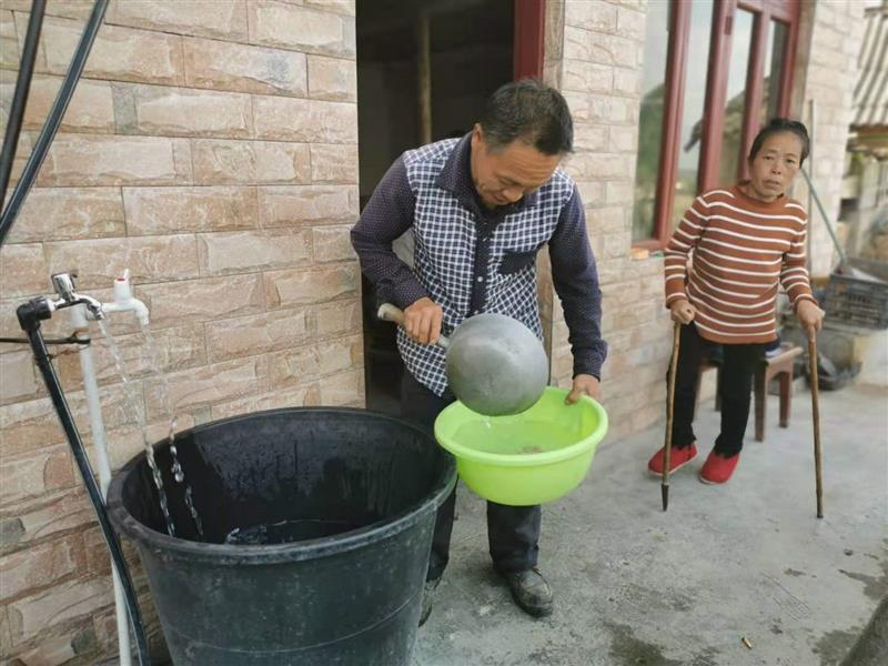 貴州:有安全水喝的日子才有奔頭