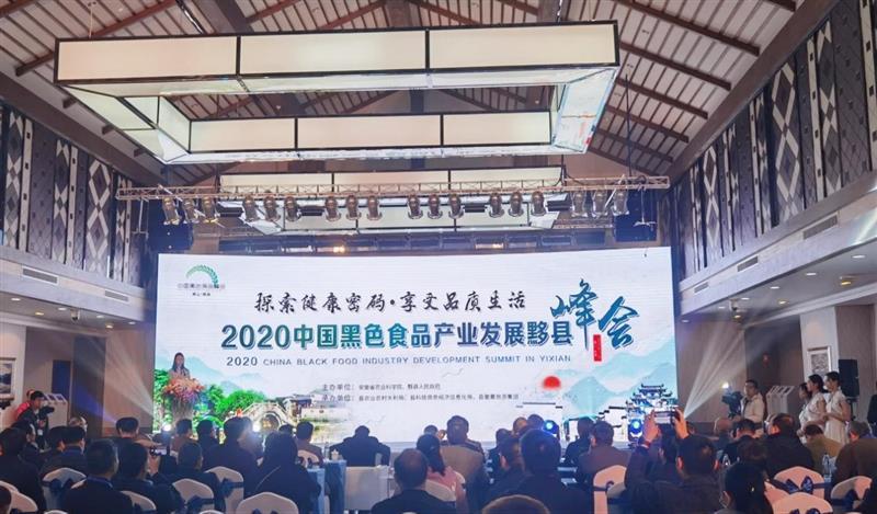 2020中国黑色食品产业发展黟县峰会举办