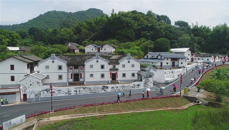 广东省玉水村:四好农村路 映衬美好乡村