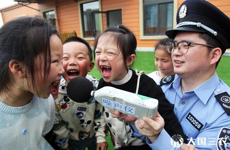 浙江台州:环保意识从娃娃抓起