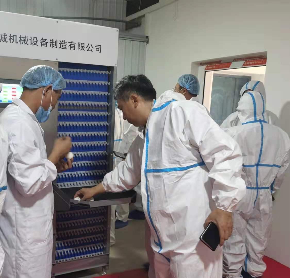 我國首臺種雞性能智能測定系統投入應用