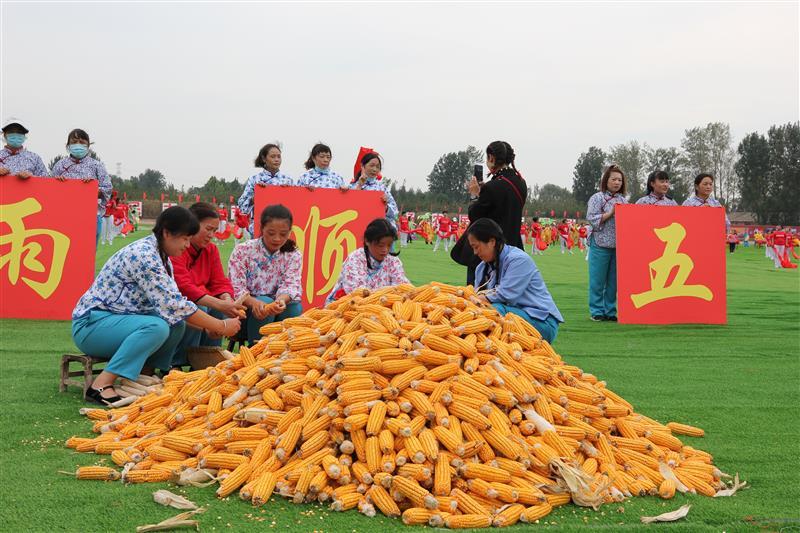 2021中国农民丰收节河南省主会场在焦作市武陟县嘉应观乡开幕