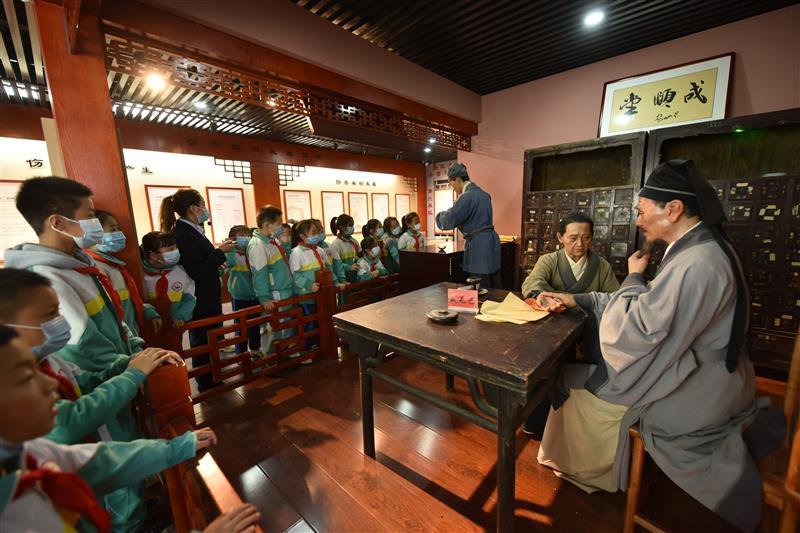 山东聊城:体验传统文化 感受中医魅力