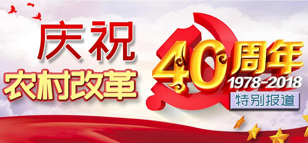慶祝農村改革四十年特別報道