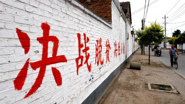 河北省新河县的脱贫之路