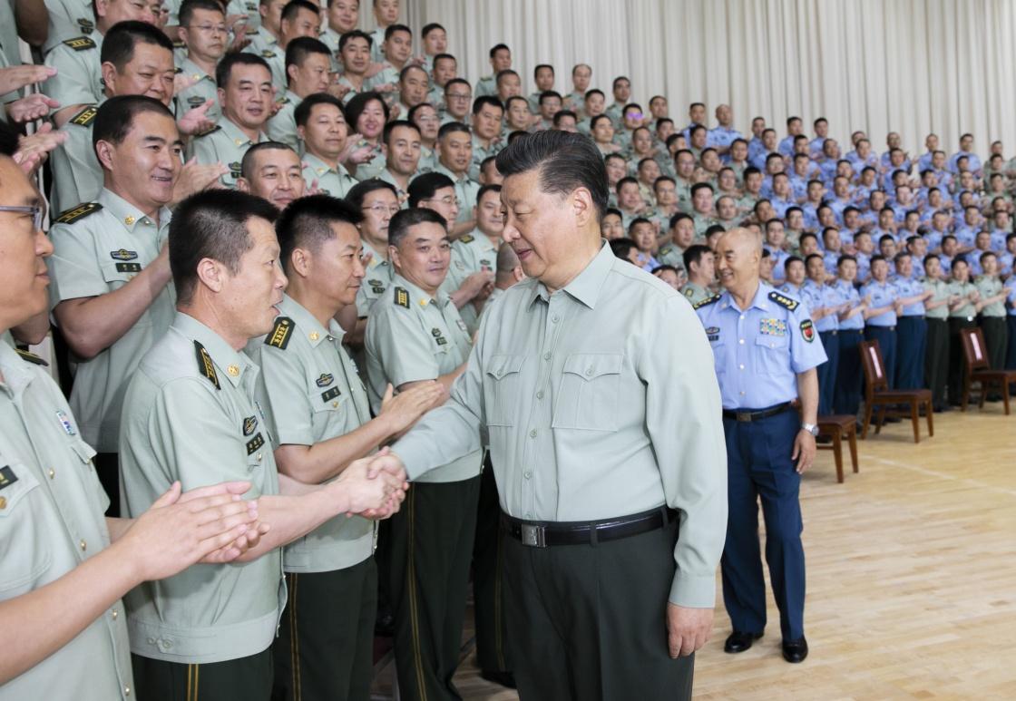 习近平在视察空军某基地时强调 牢记初心使命 提高打赢能力 以优异成绩庆祝新中国成立70周年