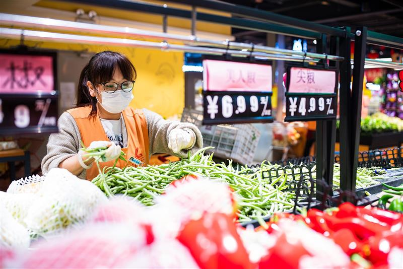 河北隆尧:货品充足价格稳定