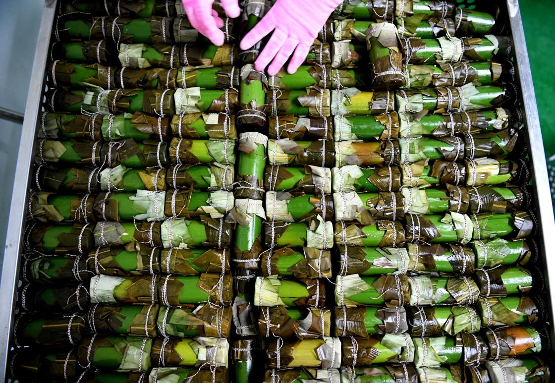 竹筒粽飄香