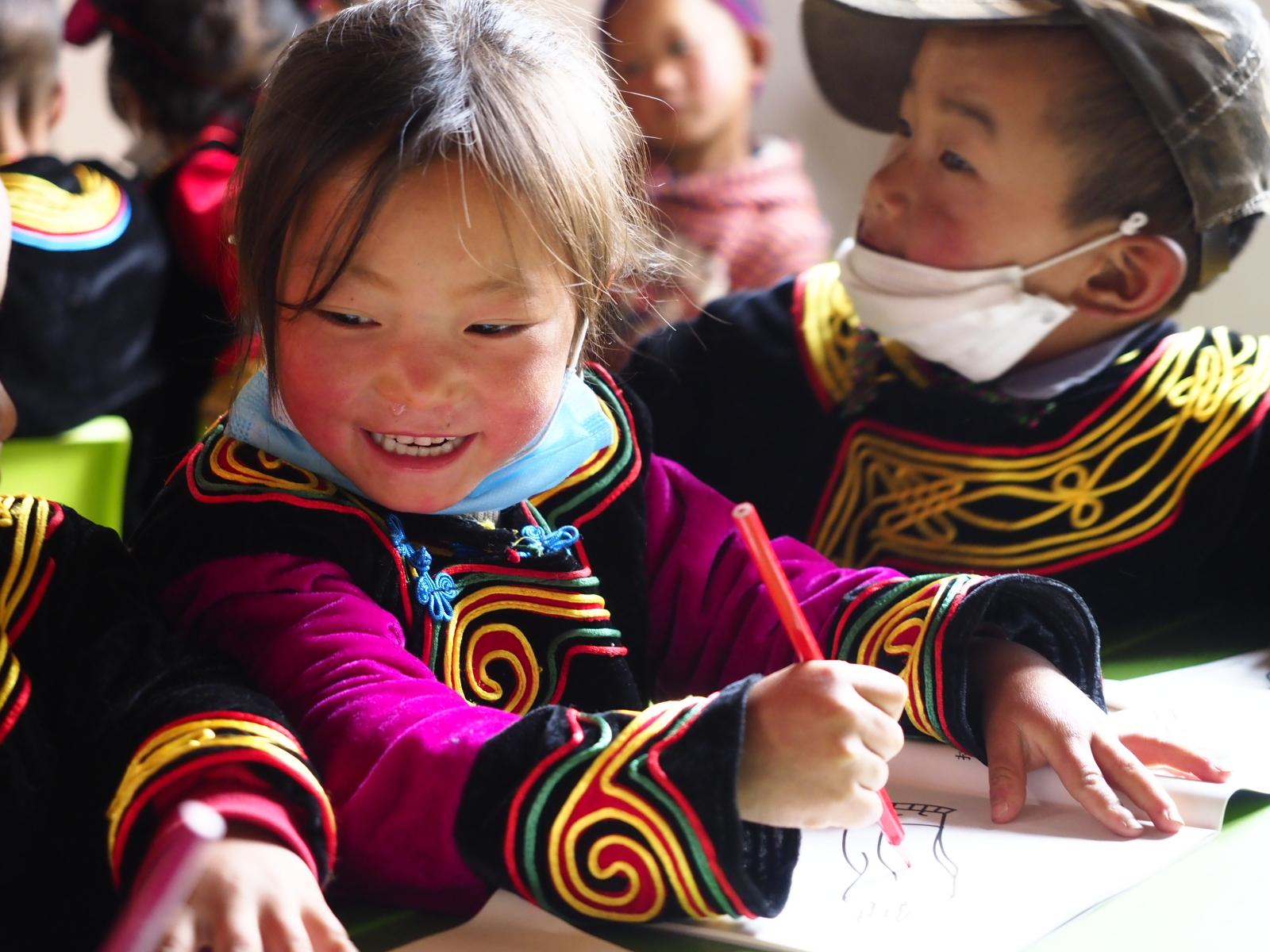 """""""学前学会普通话""""行动在凉山开花结果"""