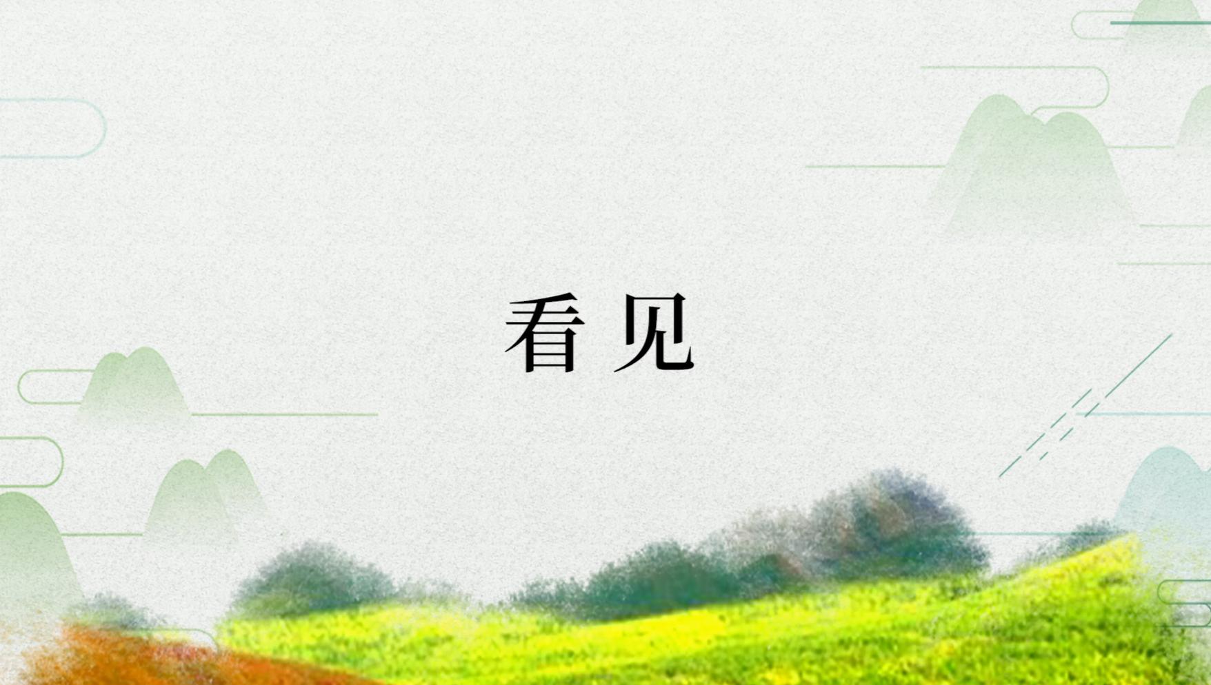 农民日报专题纪录片《见证摆脱贫困》第五集:看见