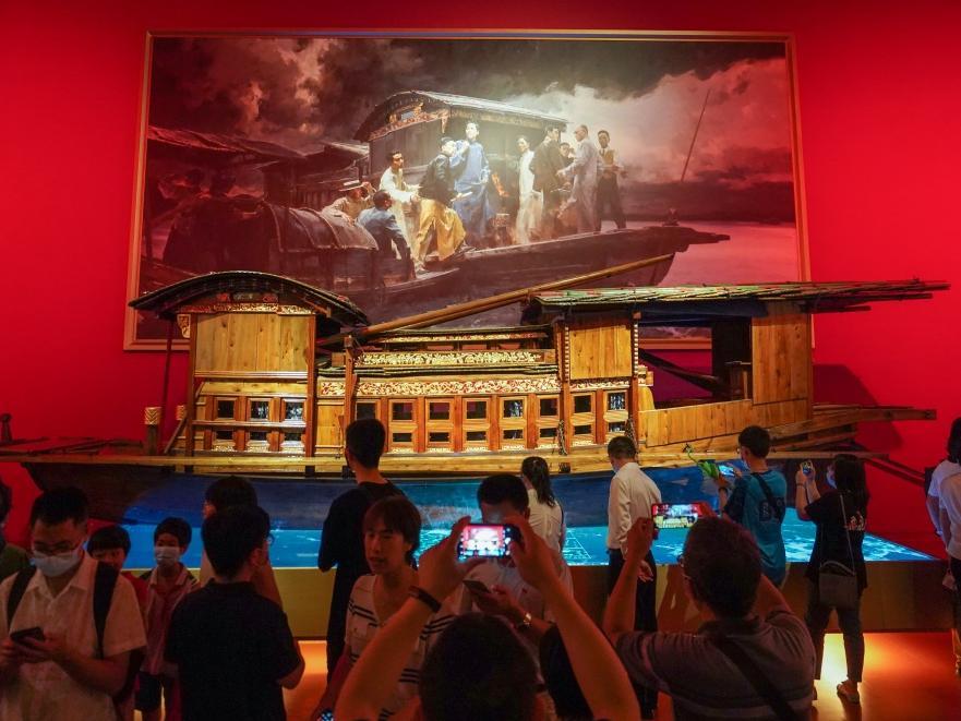 中国共产党历史展览馆面向社会公众开放